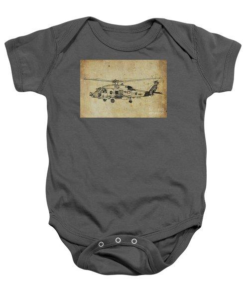 Us Navy 710 Baby Onesie