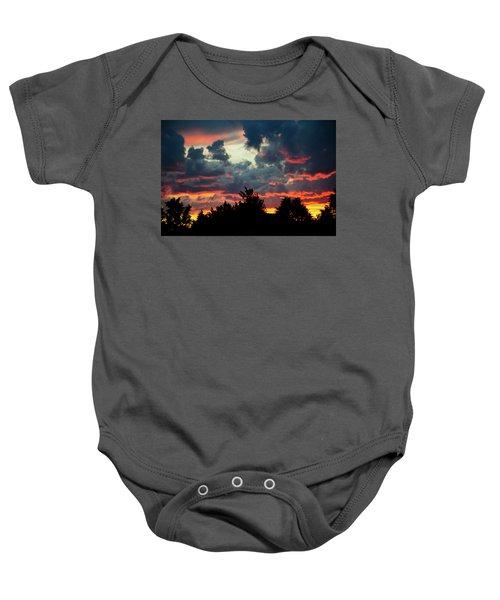 Utah Sunset Baby Onesie