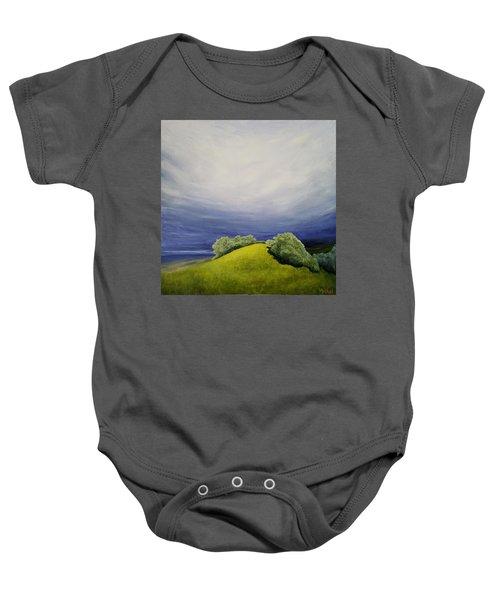 Valle Vista Meadow Baby Onesie
