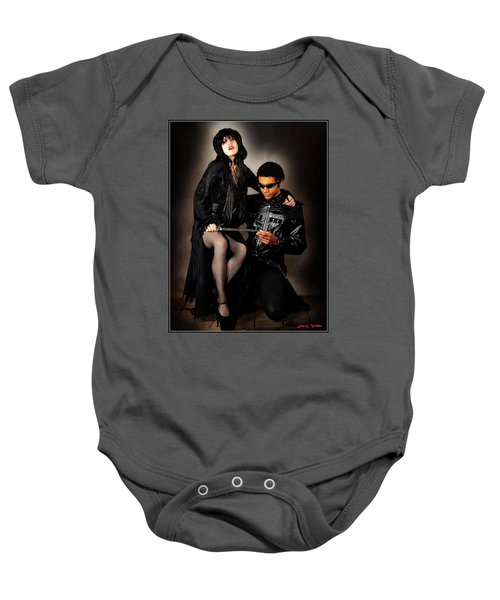 Vampirilla Sitting Pretty Baby Onesie