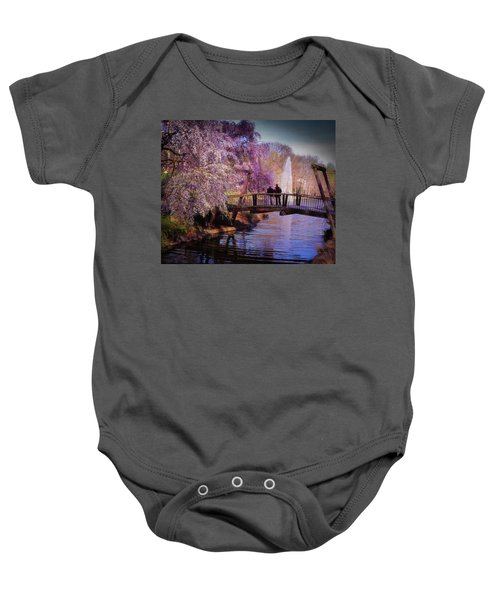 Van Gogh Bridge - Reston, Virginia Baby Onesie
