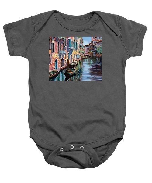 Venezia In Rosa Baby Onesie