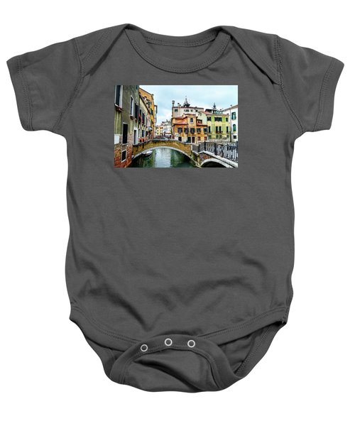 Venice Neighborhood Baby Onesie