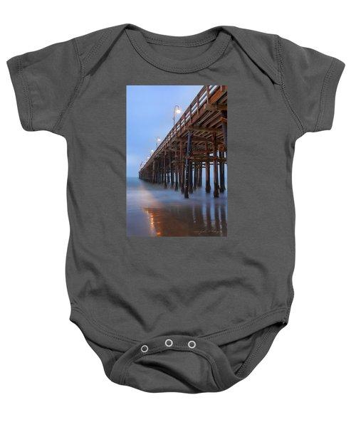 Ventura Ca Pier At Dawn Baby Onesie
