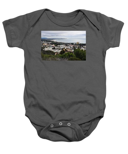 Ventura Coast Skyline Baby Onesie