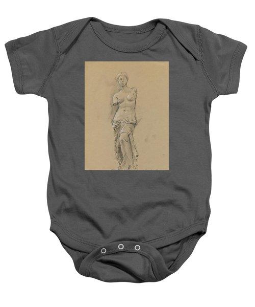 Venus De Milo Baby Onesie by Juan Bosco