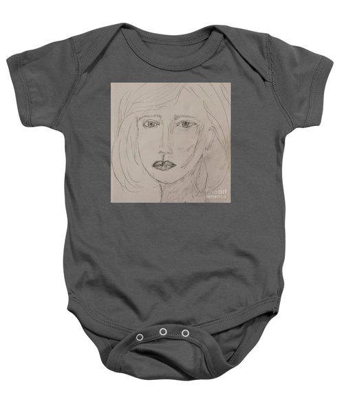Vera In Pencil Baby Onesie