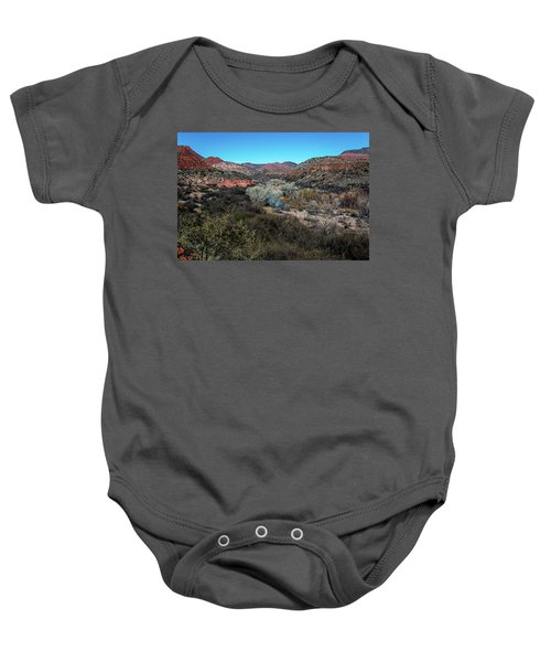 Verde Canyon Oasis Baby Onesie