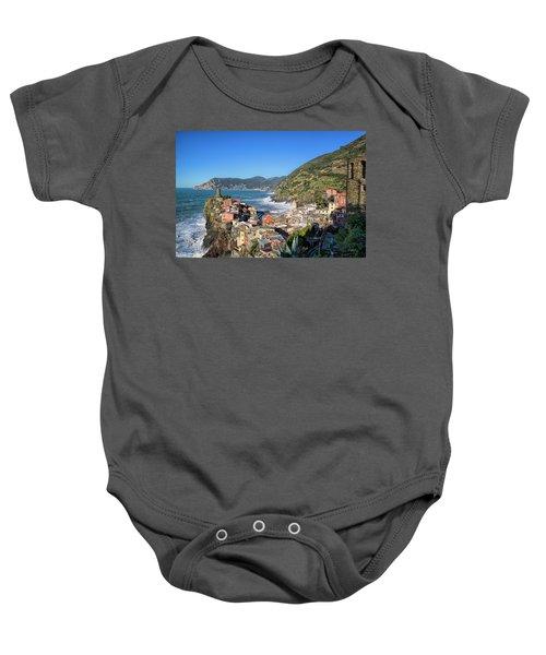Vernazza In Cinque Terre Baby Onesie