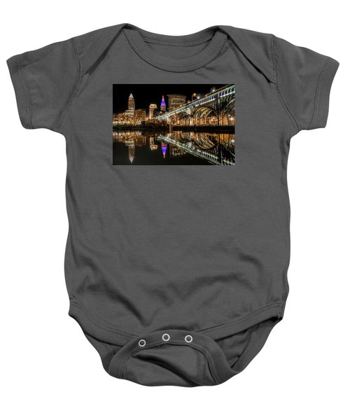 Veterans Memorial Bridge Baby Onesie