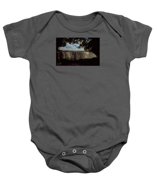 Baby Onesie featuring the photograph Victoria Falls, Zimbabwe by Travel Pics