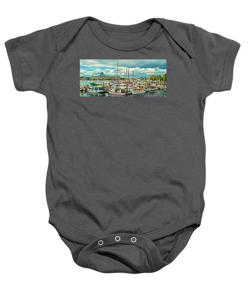 Victoria Harbor 1 Baby Onesie