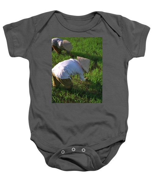 Vietnam Paddy Fields Baby Onesie