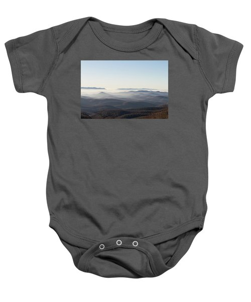View From Blood Mountain Baby Onesie