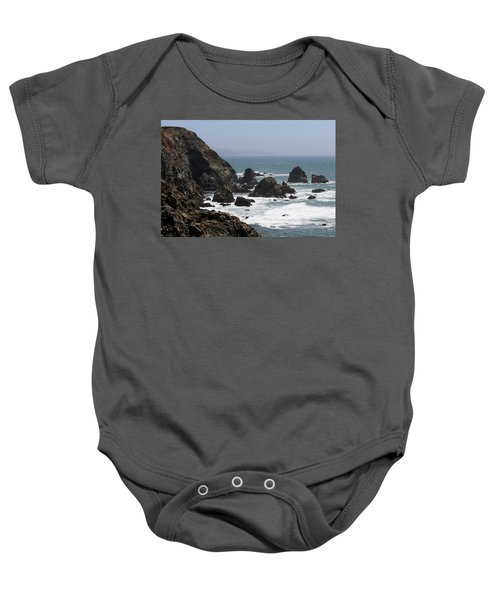 View From Bodega Head In Bodega Bay Ca - 4 Baby Onesie