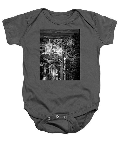 View From The Hill Baby Onesie