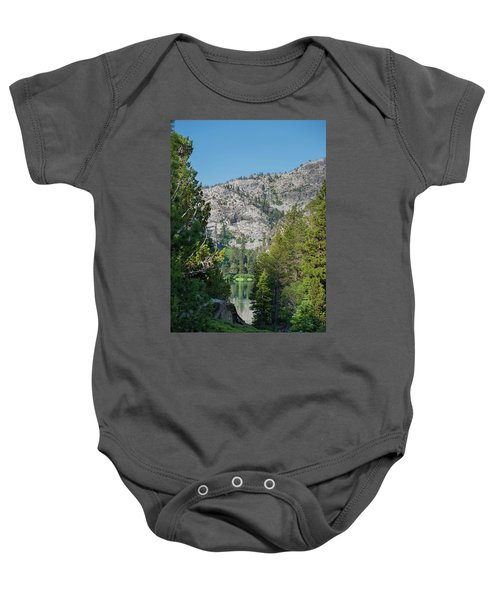 View Of Eagle Lake Baby Onesie