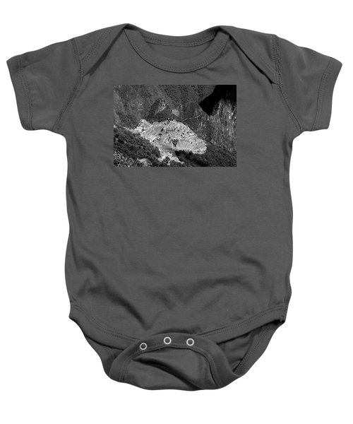 View Of Machu Picchu From The Inca Trail Baby Onesie