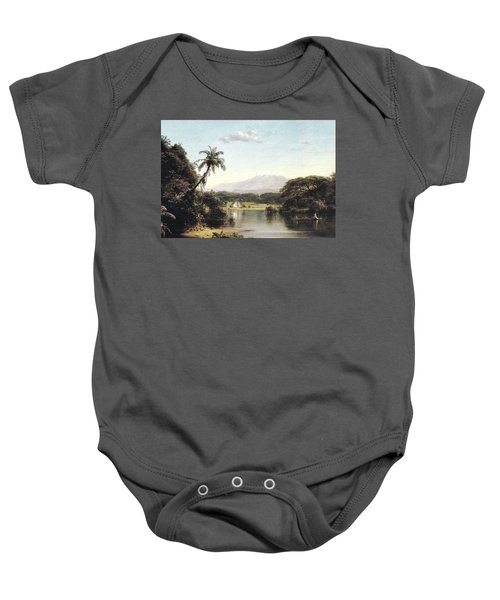 View On The Magdalena River Baby Onesie