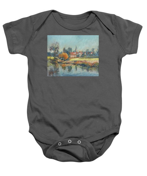 View To Elsloo Baby Onesie