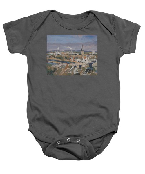 View To The East Bank Of Maastricht Baby Onesie