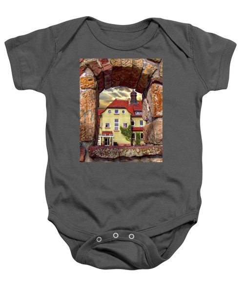 View To The Past Baby Onesie