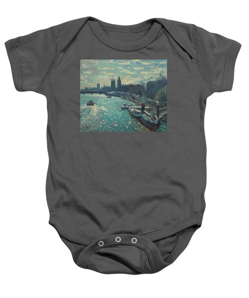 View To Westminster London Baby Onesie