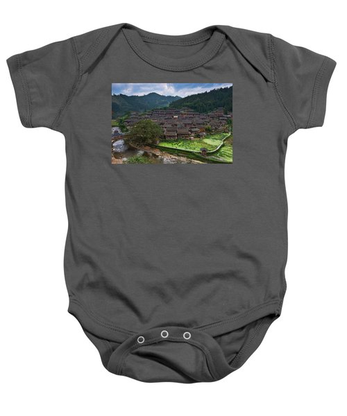 Village Of Joy Baby Onesie