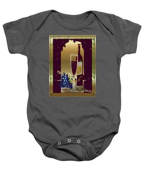 Vin Pour Une Baby Onesie