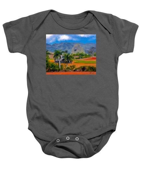 Vinales Valley. Cuba Baby Onesie