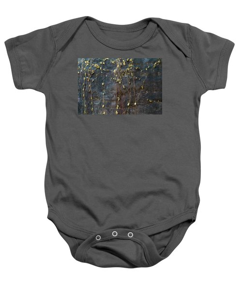 Baby Onesie featuring the photograph Vines On Rock, Bhimbetka, 2016 by Hitendra SINKAR