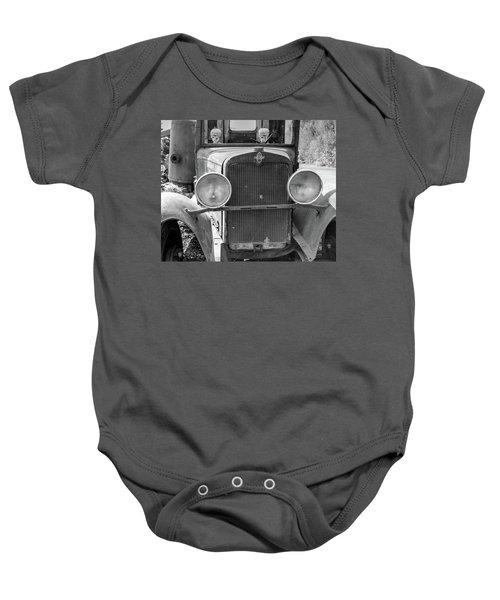 Vintage Chevrolet Baby Onesie