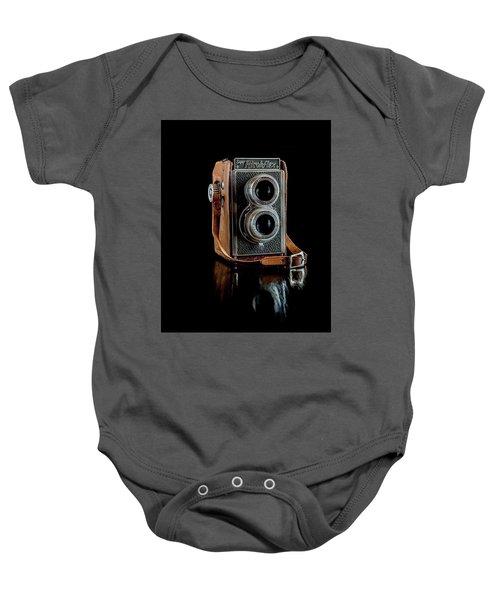 Vintage Ricohflex Camera Baby Onesie