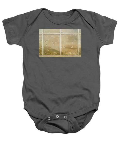 Vintage Window Baby Onesie