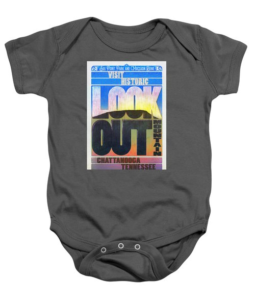 Visit Lookout Mountain Baby Onesie