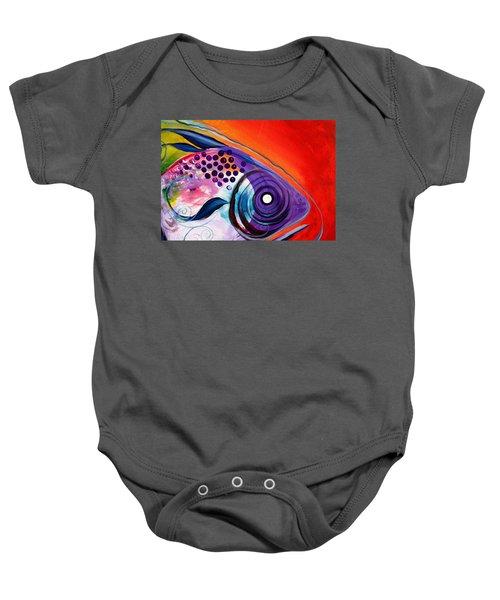 Vivid Fish Baby Onesie