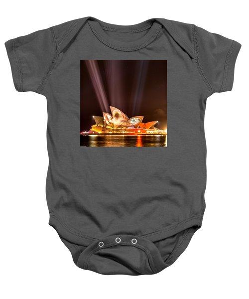 Vivid Opera House Baby Onesie