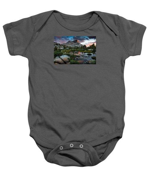 Vogelsang Peak Baby Onesie
