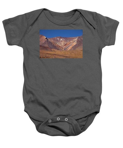 Volcano Crater In Siloli Desert Baby Onesie