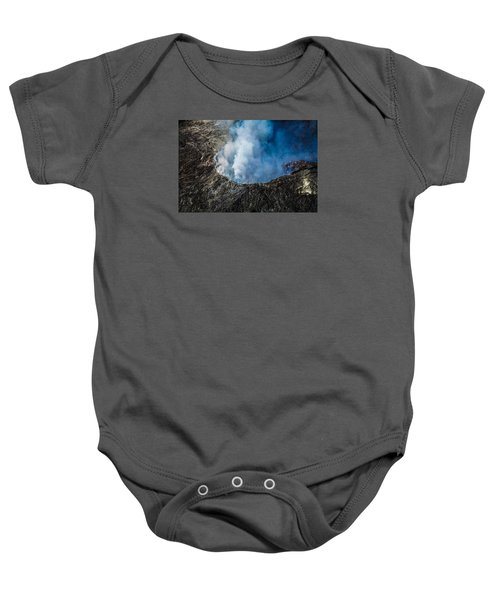 Another View Of The Kalauea Volcano Baby Onesie