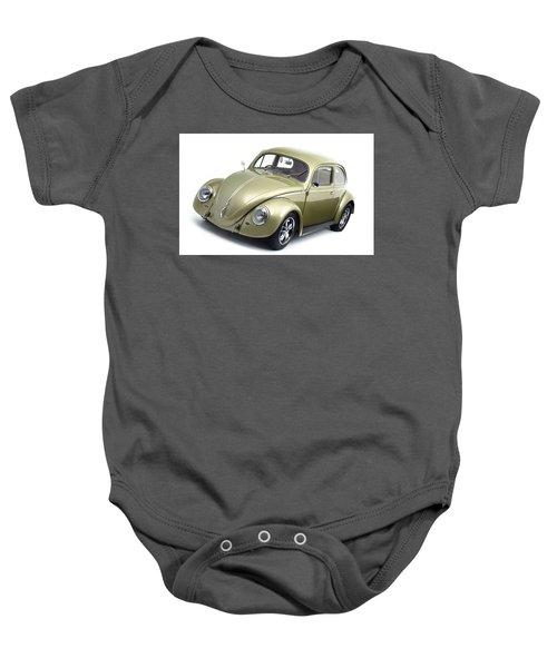 Volkswagen Beetle Baby Onesie