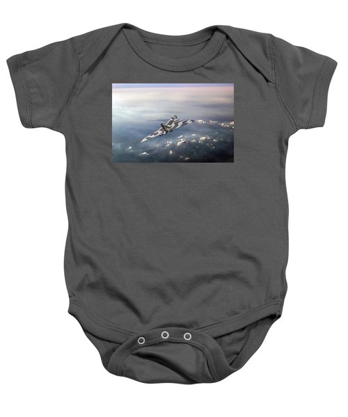 Vulcan Over The Channel Baby Onesie