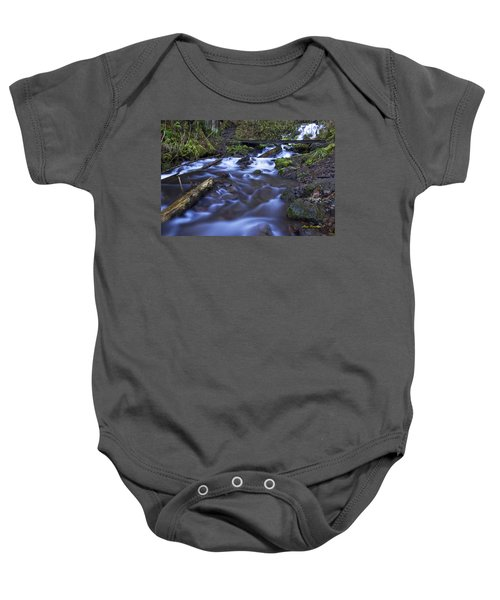 Wahkeena Creek Bridge # 5 Signed Baby Onesie