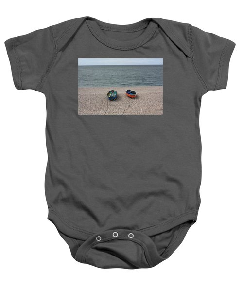 Waiting To Go To Sea Baby Onesie