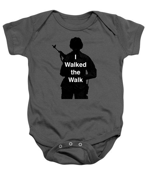 Walk The Walk Baby Onesie