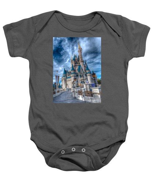 Walkway To Cinderellas Castle Baby Onesie