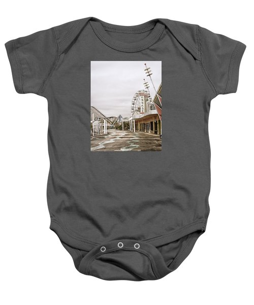 Walkway To The Arcade Baby Onesie