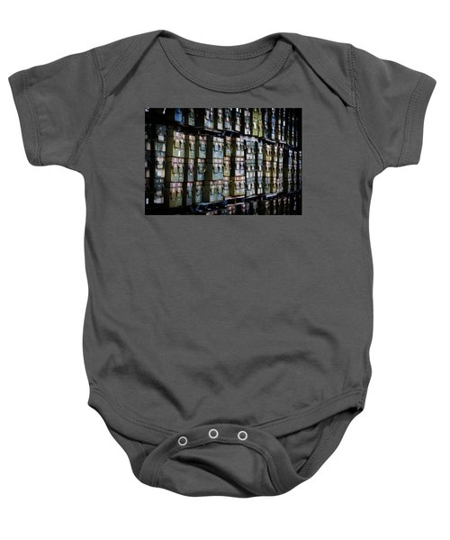 Wall Of Containment Baby Onesie