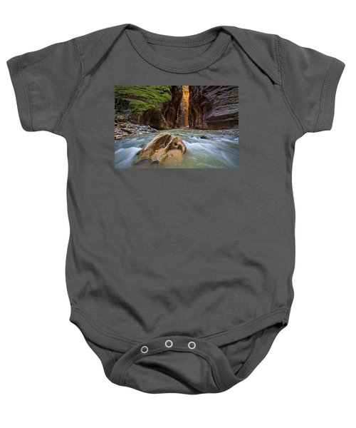 Wall Street Of The Narrows Baby Onesie