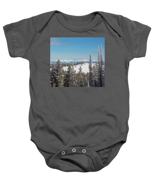 Walton Peak  Baby Onesie